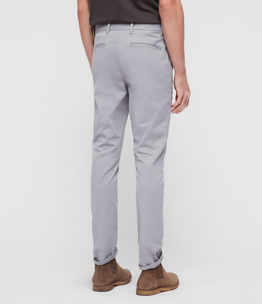 Mens Felix Slim Chinos (space_blue) - Image 5