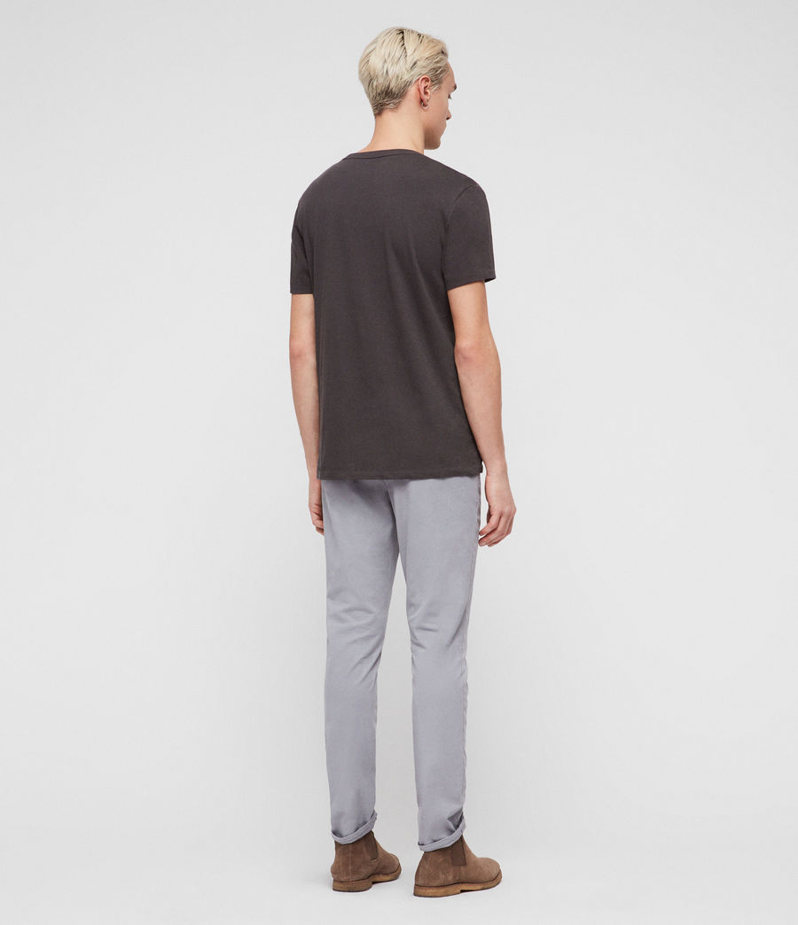 Mens Felix Slim Chinos (space_blue) - Image 6