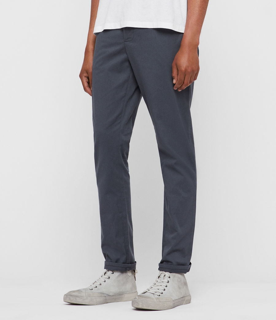 Mens Felix Chinos (granite_blue) - Image 3