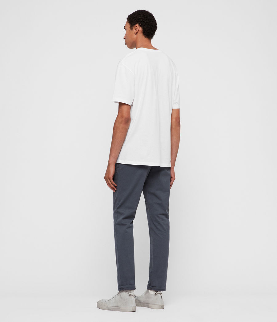 Mens Felix Chinos (granite_blue) - Image 4