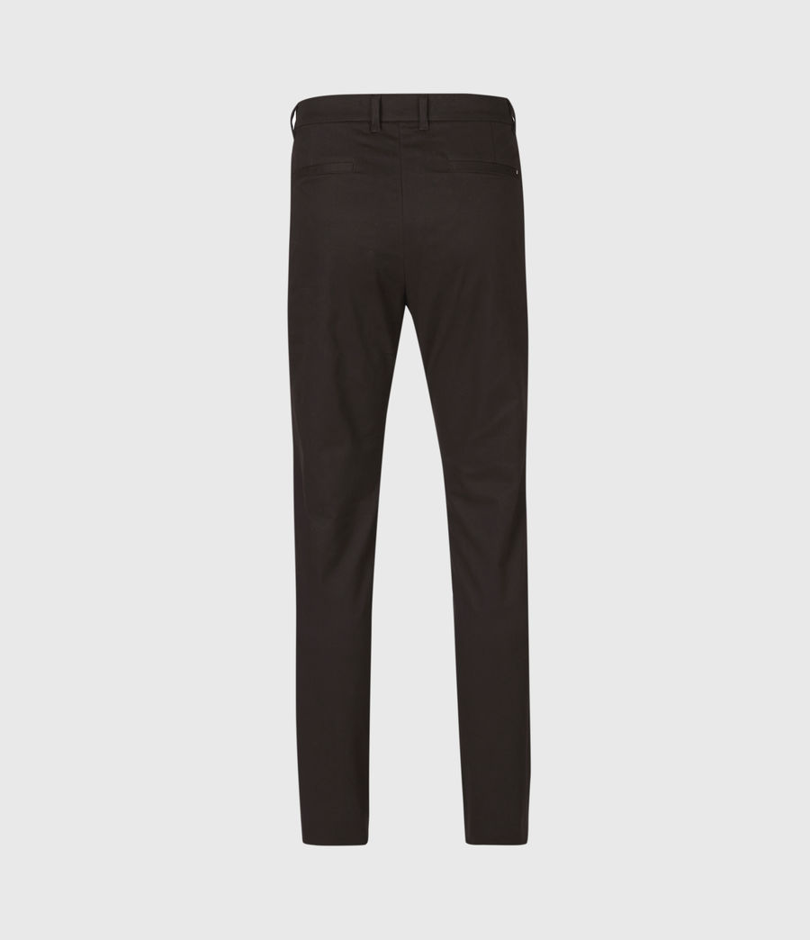 Mens Park Skinny Chinos (mahogany_brown) - Image 3