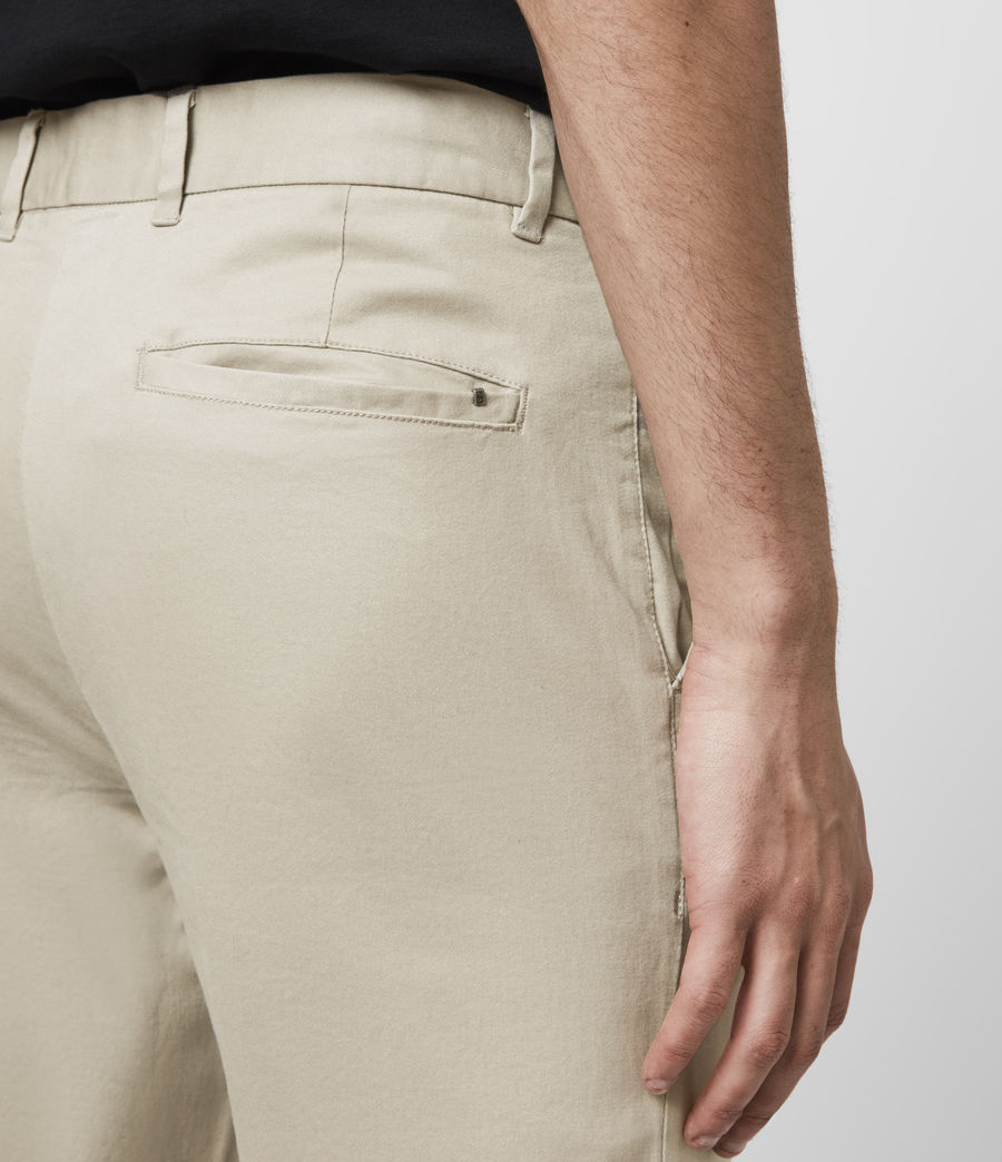 Hombre Park Skinny Chinos (reed_ecru) - Image 2