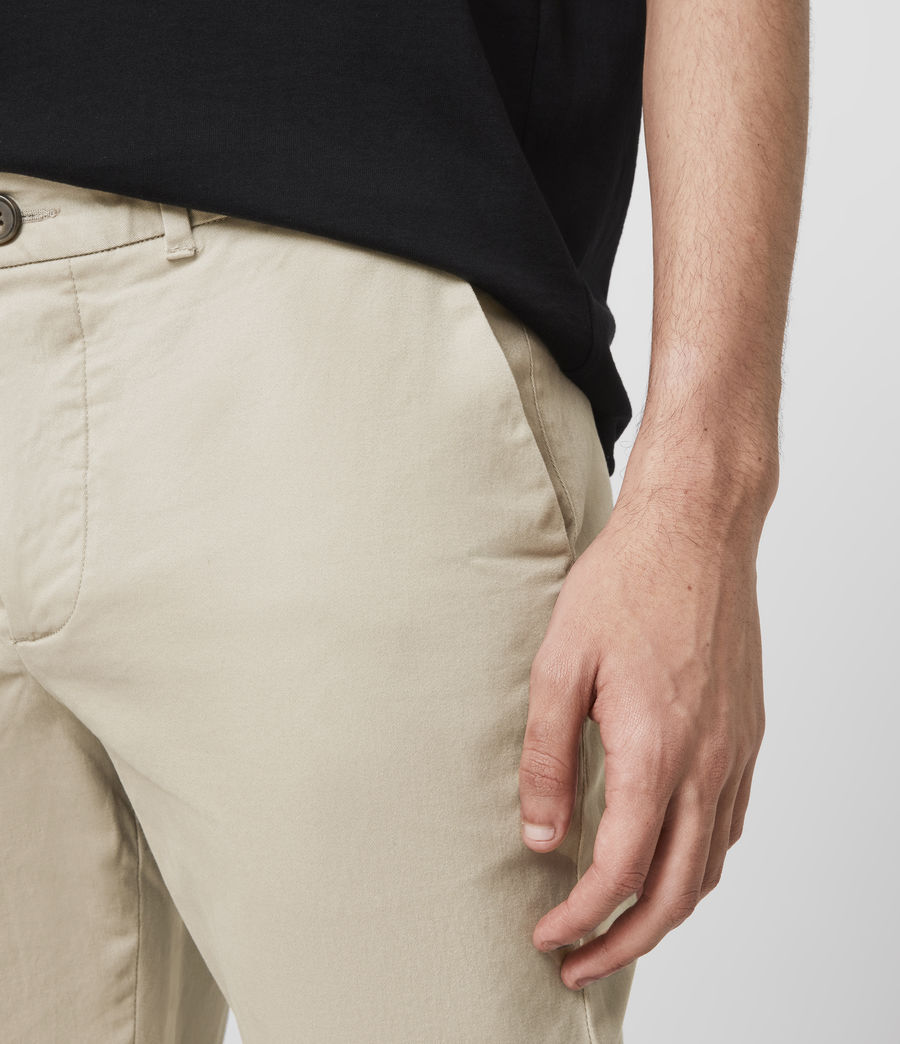 Hombre Park Skinny Chinos (reed_ecru) - Image 3