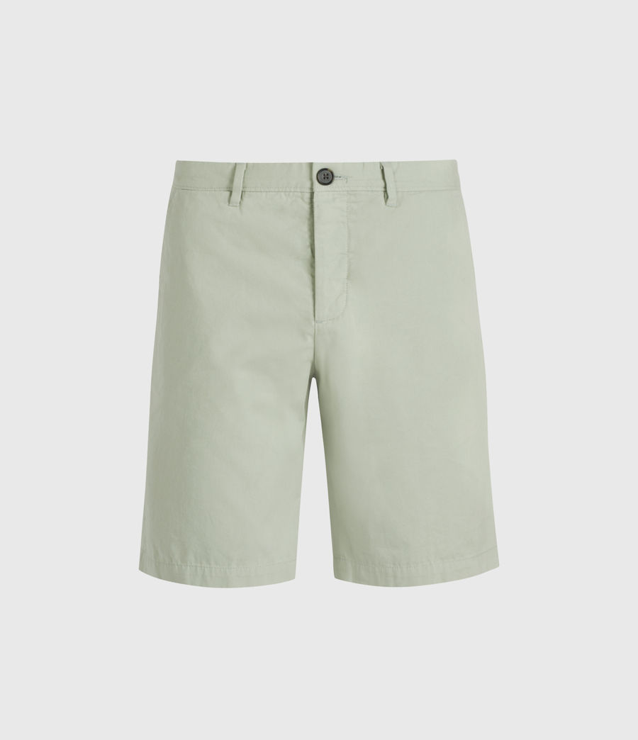Hombres Colbalt Chino Shorts (thyme_green) - Image 1