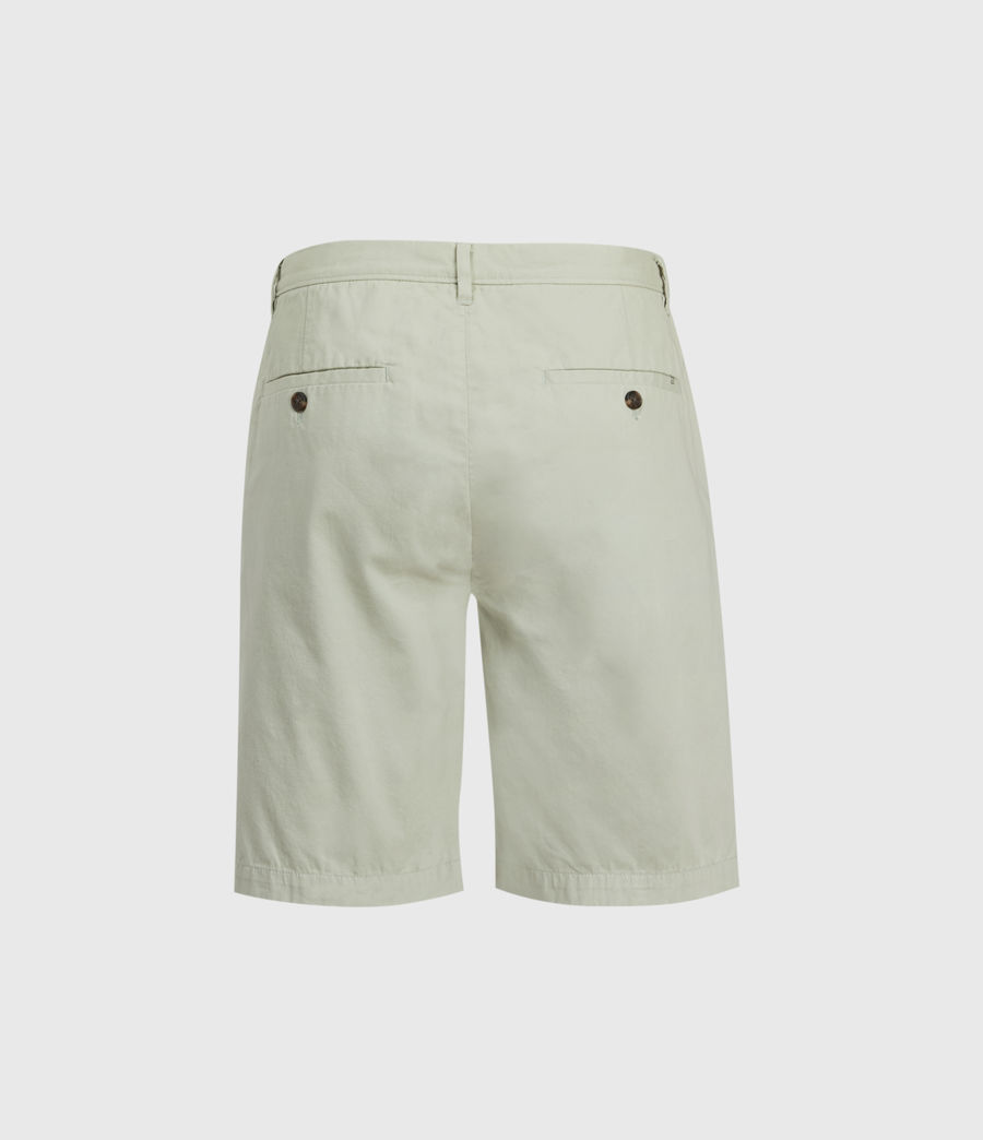Hombres Colbalt Chino Shorts (thyme_green) - Image 2