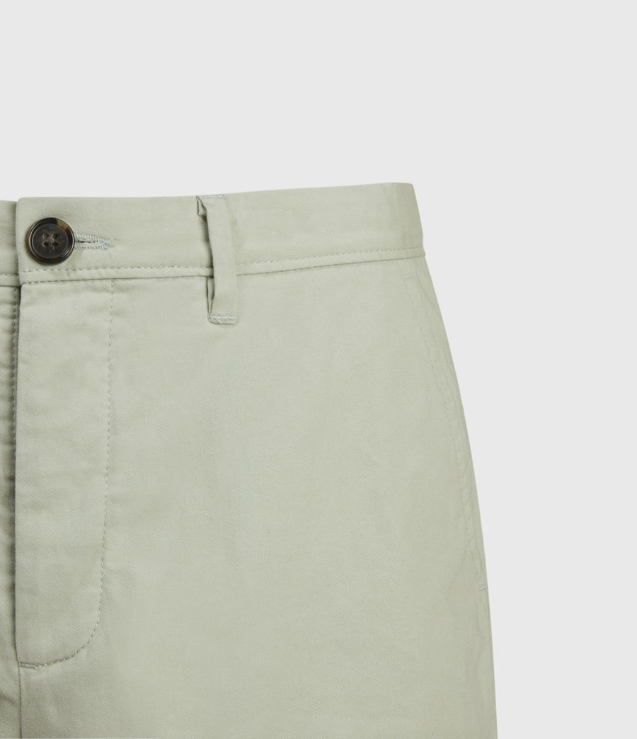 Hombres Colbalt Chino Shorts (thyme_green) - Image 3