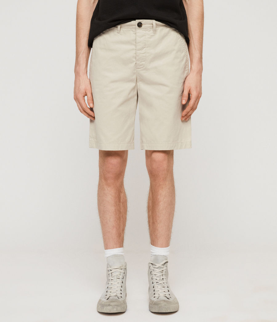 Men's Colbalt Chino Shorts (vintage_white) - Image 1
