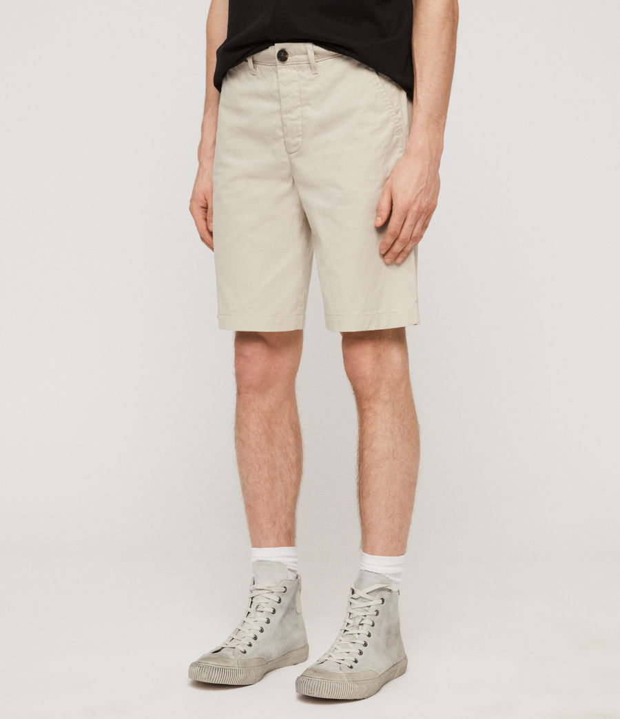 Men's Colbalt Chino Shorts (vintage_white) - Image 2