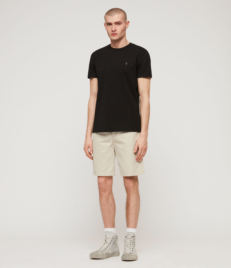 Men's Colbalt Chino Shorts (vintage_white) - Image 3
