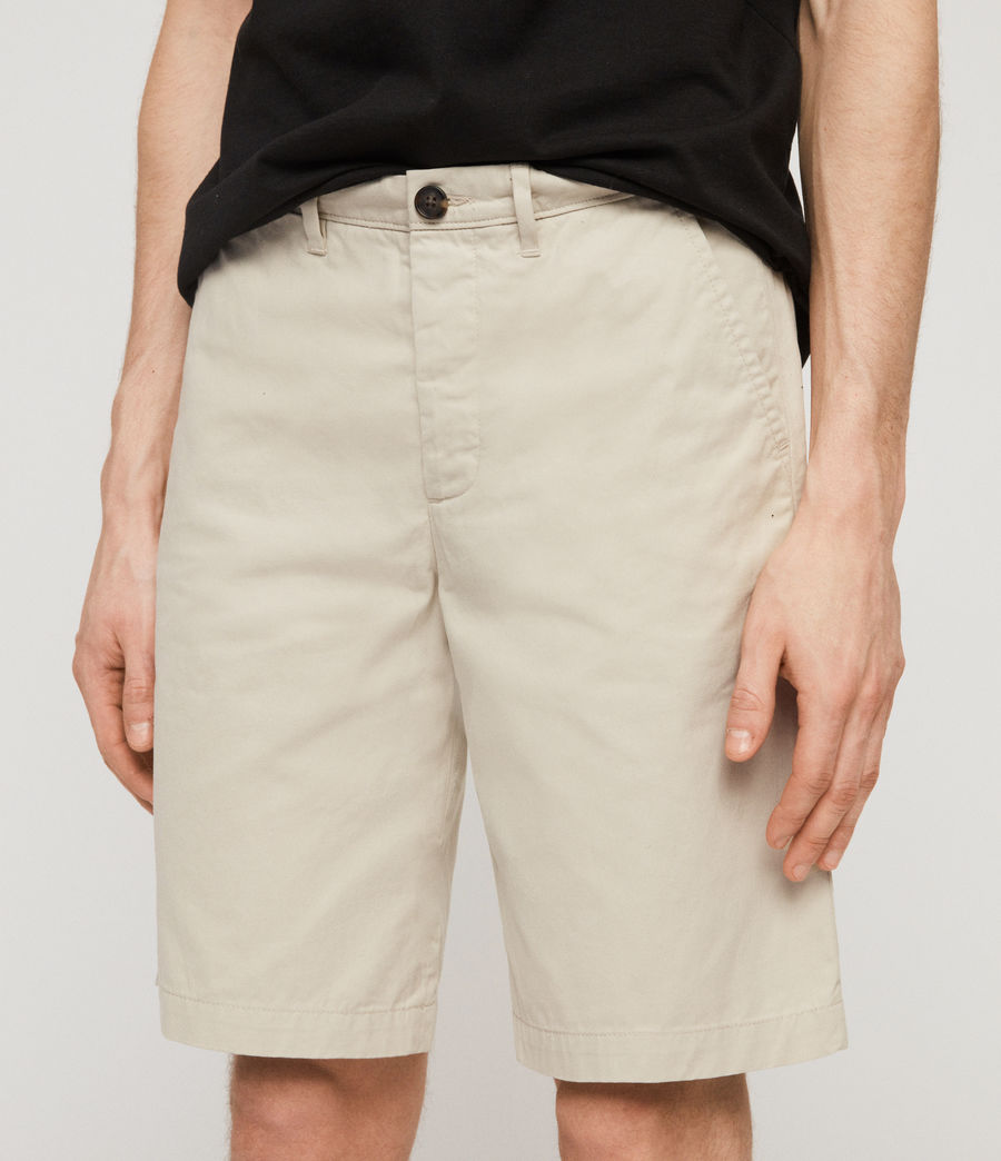 Men's Colbalt Chino Shorts (vintage_white) - Image 5