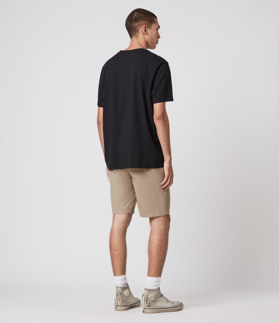 Herren Colbalt Chino Shorts (dusty_khaki_green) - Image 6