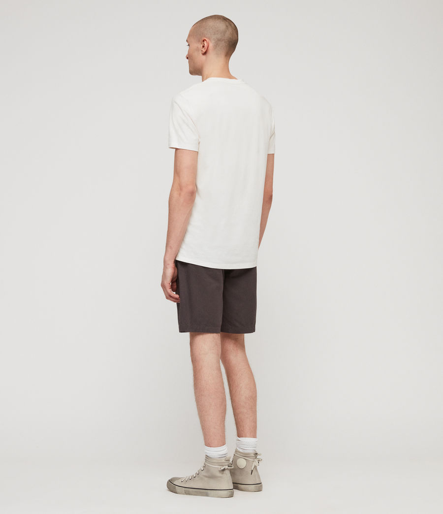 Uomo Shorts Chino Colbalt - Slim in cotone (slate_grey) - Image 5
