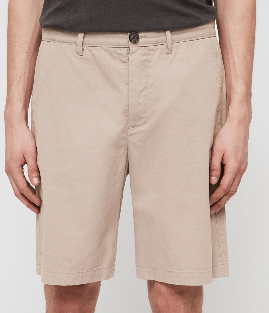 Hombres Colbalt Chino Shorts (light_sand) - Image 4