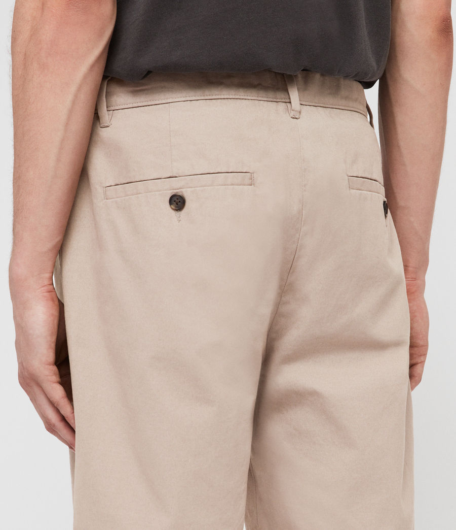 Hombres Colbalt Chino Shorts (light_sand) - Image 5