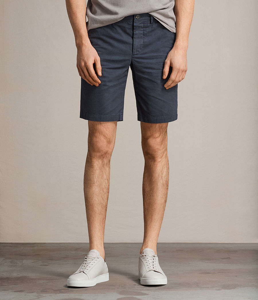 Men's Colbalt Chino Shorts (workers_blue) - Image 1
