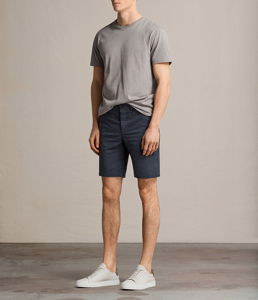 Men's Colbalt Chino Shorts (workers_blue) - Image 3