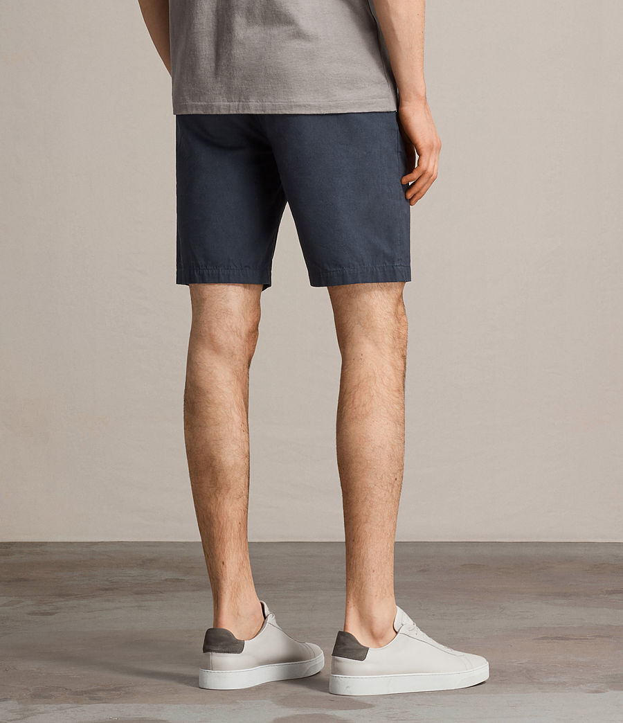 Men's Colbalt Chino Shorts (workers_blue) - Image 4