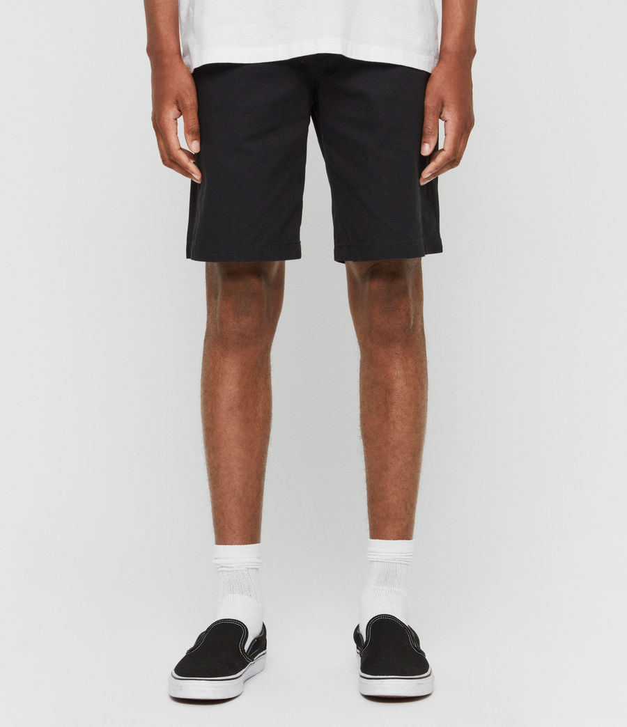 Uomo Shorts Chino Colbalt - Slim in cotone (ink_navy) - Image 1