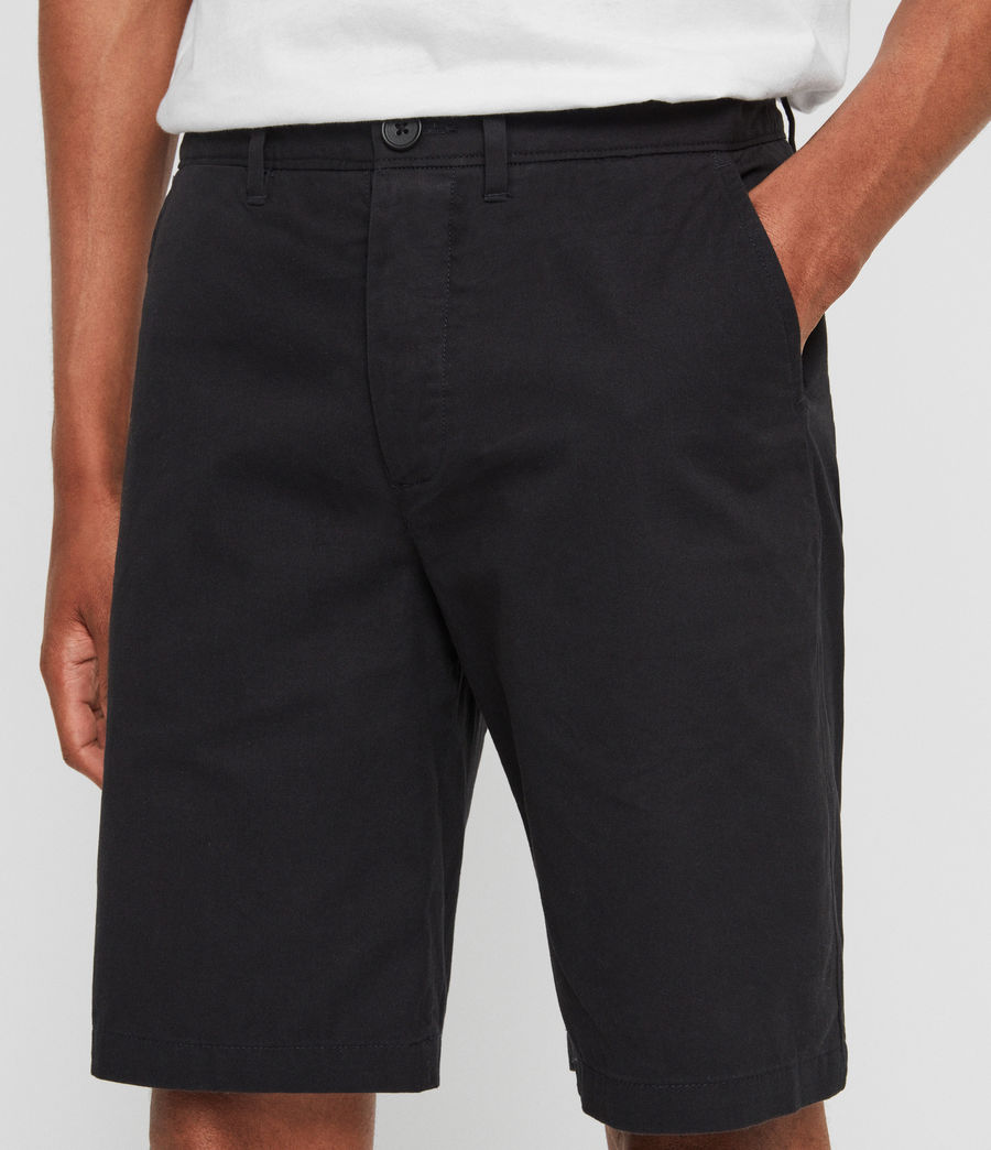 Herren Colbalt Chino Shorts (ink_navy) - Image 4
