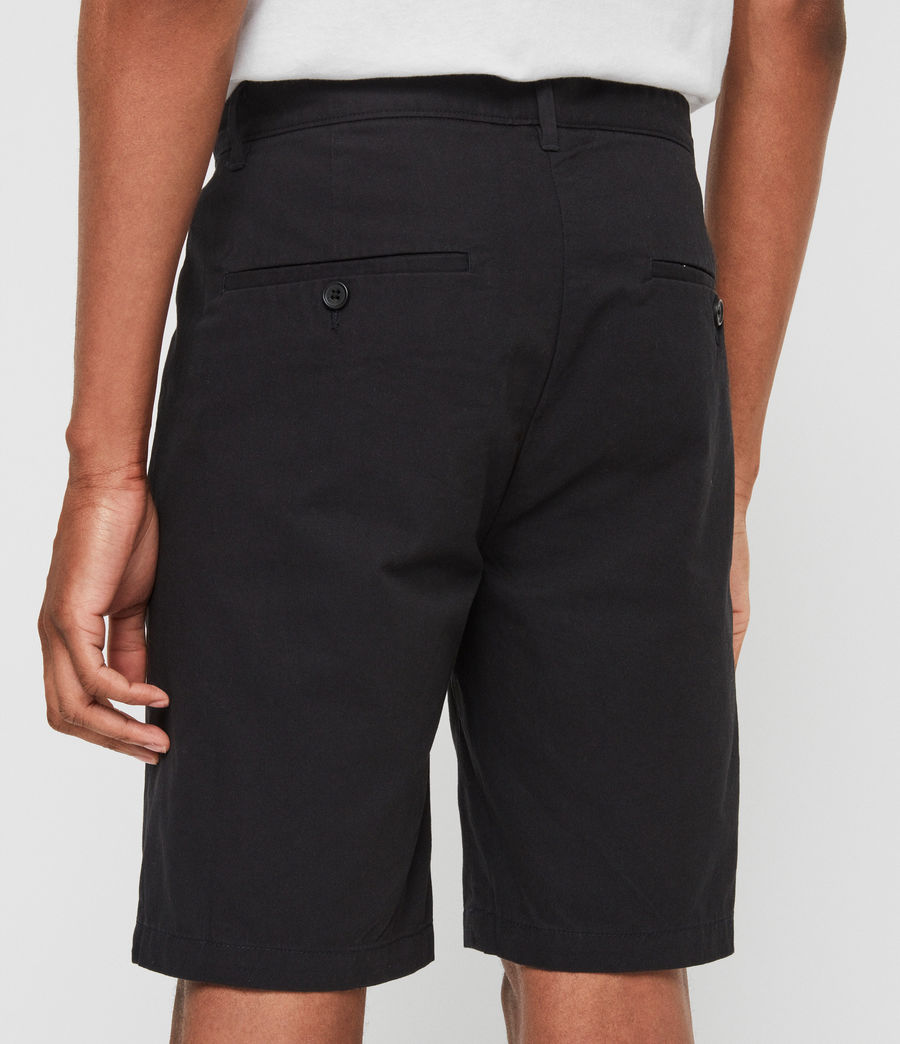 Uomo Shorts Chino Colbalt - Slim in cotone (ink_navy) - Image 5