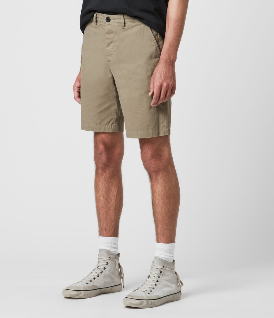 Hombres Colbalt Chino Shorts (sage_green) - Image 4