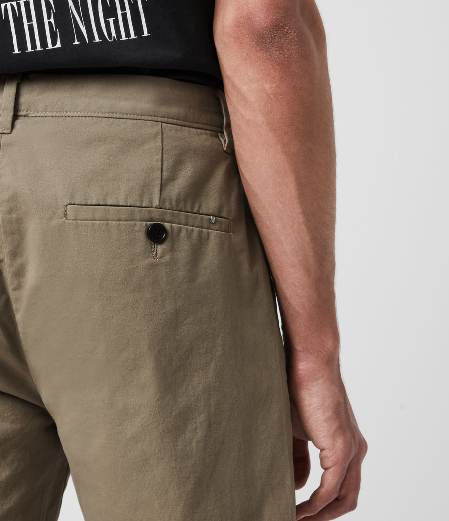 Hombres Colbalt Chino Shorts (sage_green) - Image 5