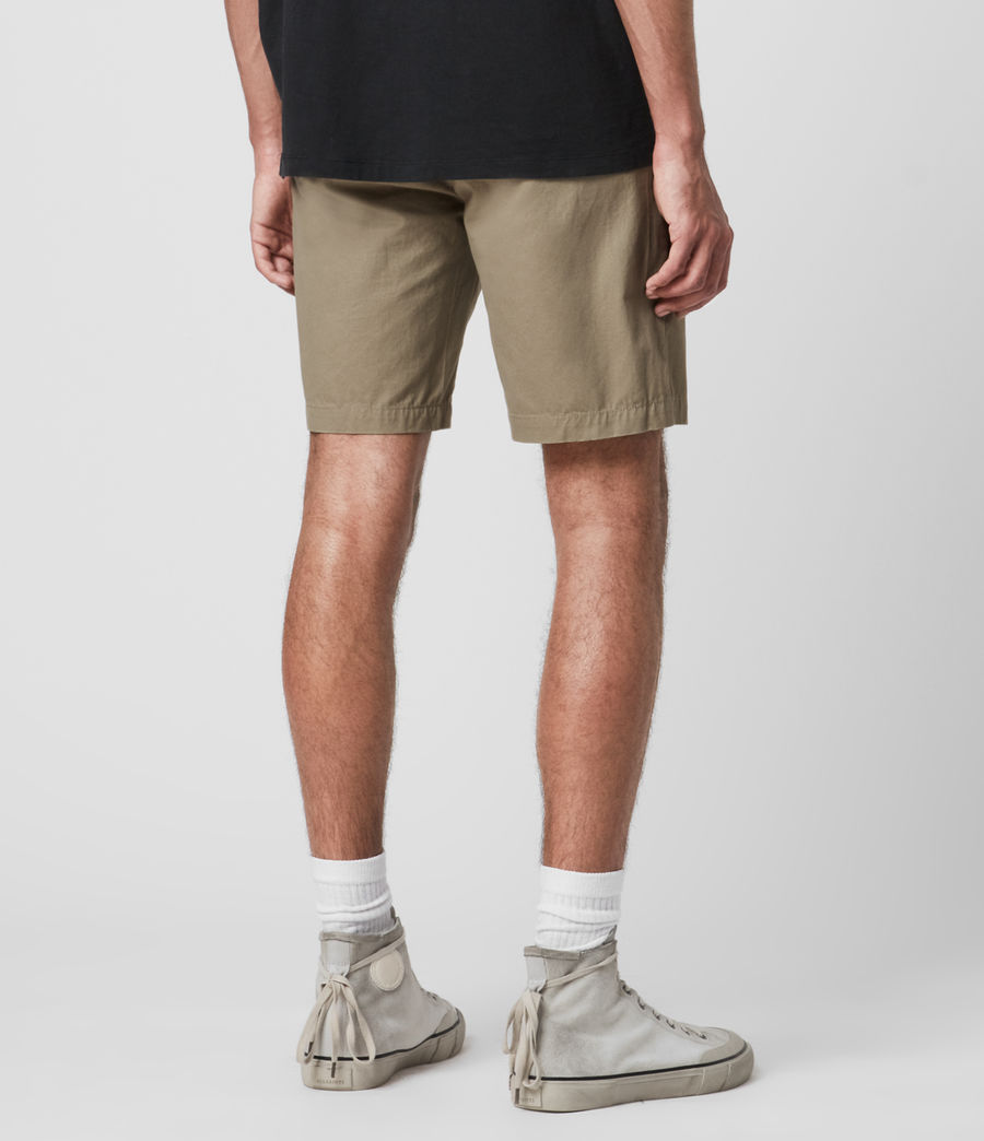 Hombres Colbalt Chino Shorts (sage_green) - Image 6