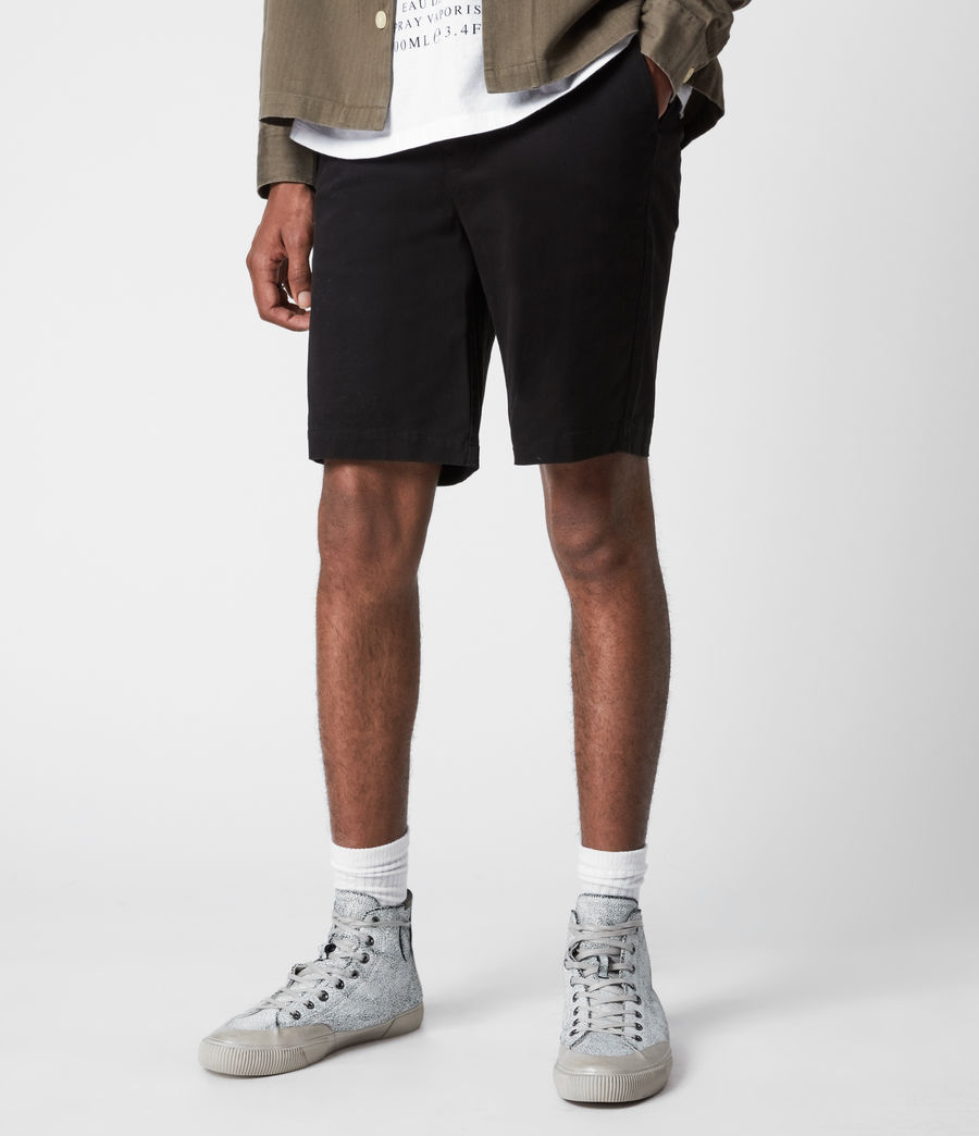 Men's Colbalt Chino Shorts (black) - Image 4