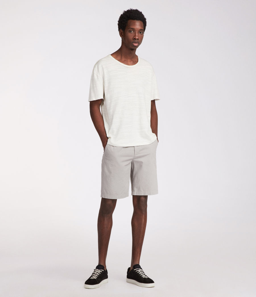 Mens Colbalt Chino Shorts (smoke_blue) - Image 1