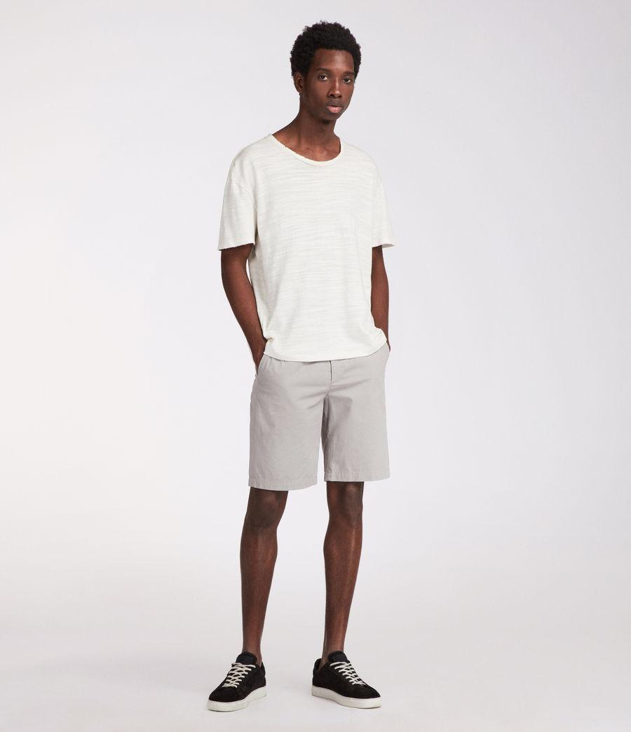 Hombres Colbalt Chino Shorts (smoke_blue) - Image 1