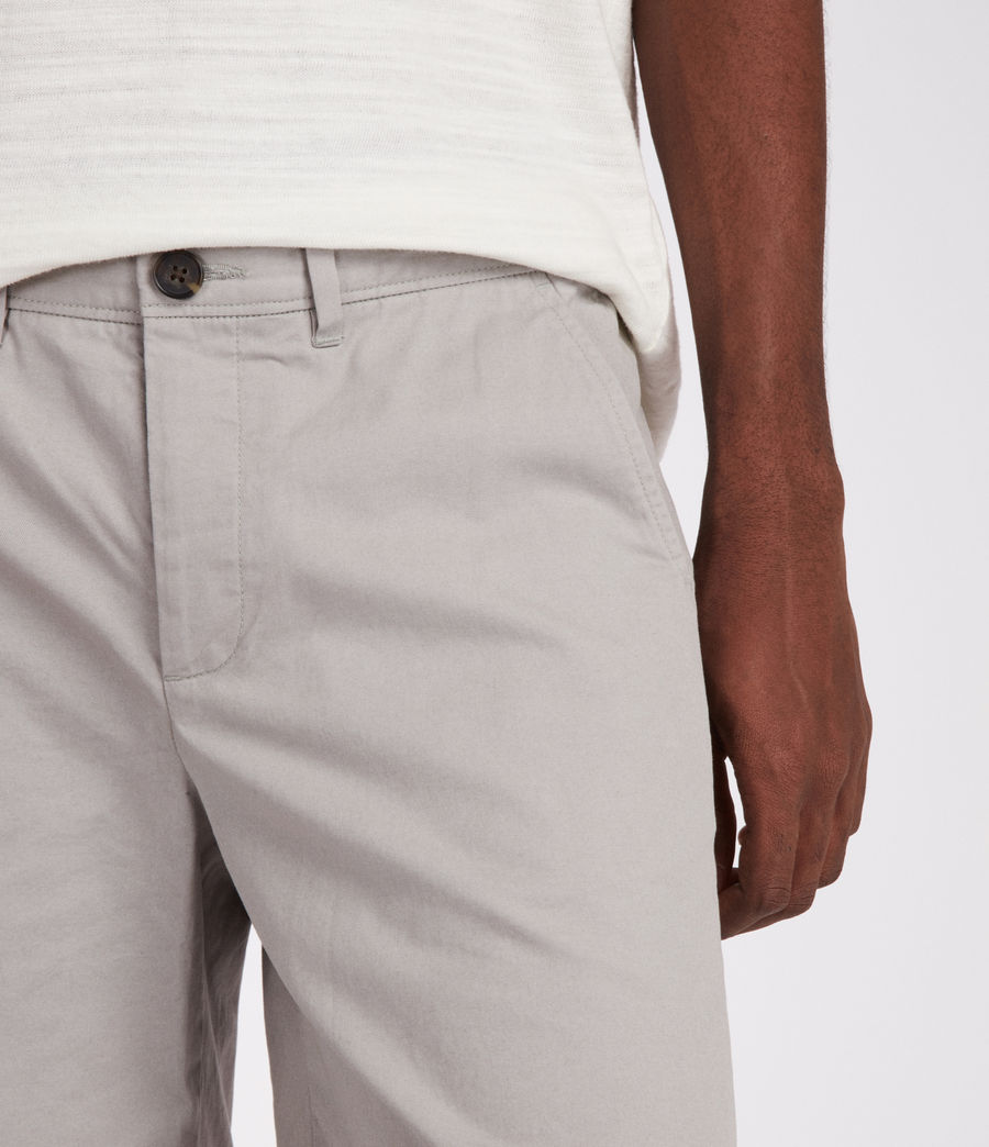 Mens Colbalt Chino Shorts (smoke_blue) - Image 4