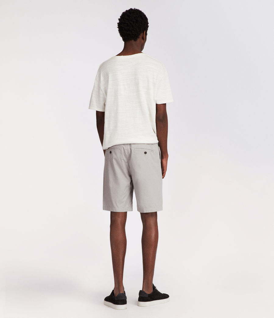Mens Colbalt Chino Shorts (smoke_blue) - Image 5