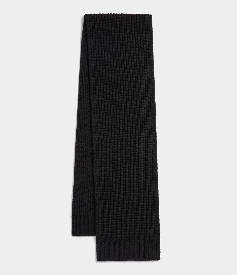 Herren Thermal Stitch Schal (cinder_black_marl) - Image 1