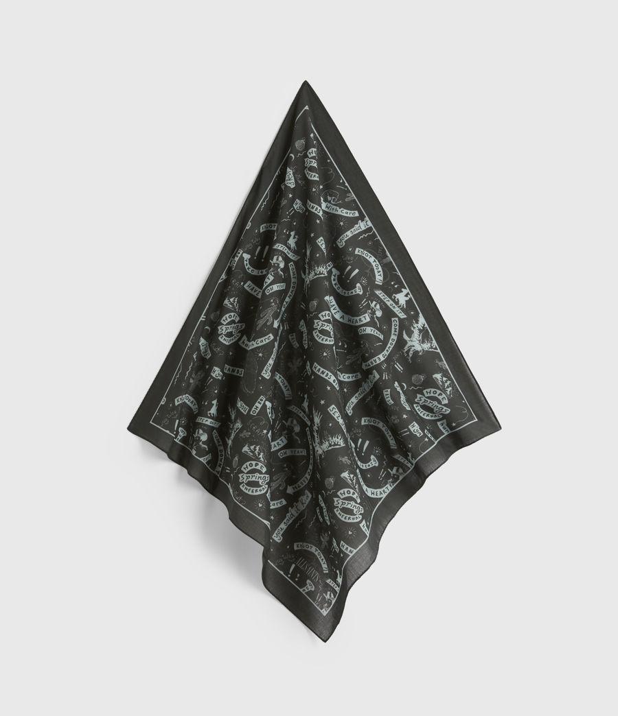 Hommes Seens Cotton Bandana (black) - Image 1