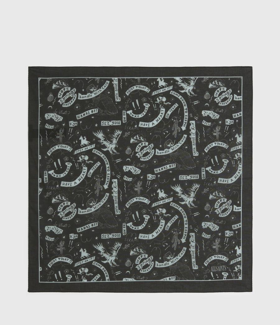 Hommes Seens Cotton Bandana (black) - Image 4