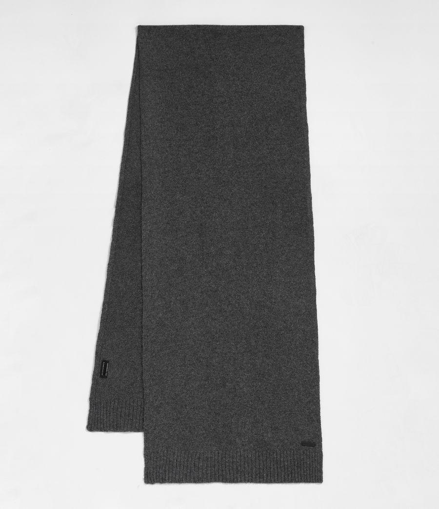 Men's Solid Cashmere Scarf (cinder_black_marl) - Image 1