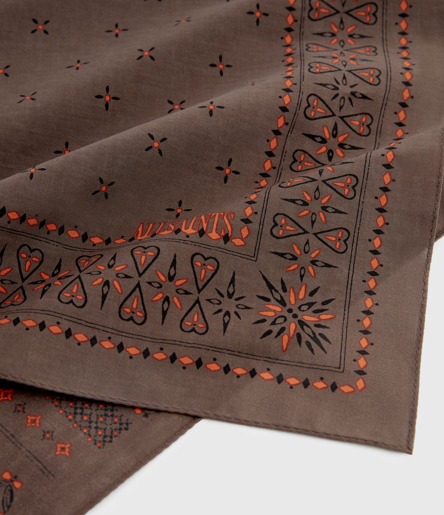 Men's Chief Cotton Bandana (khaki) - Image 5