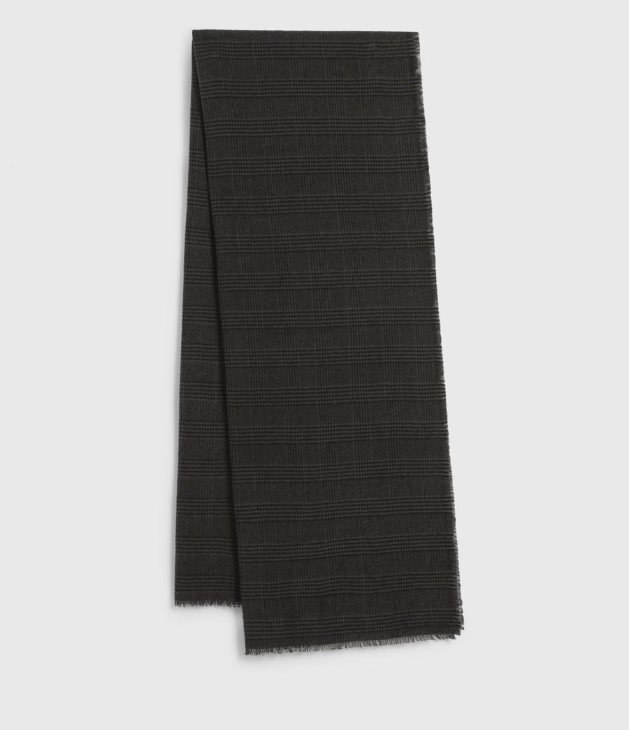 Hommes Griffin Wool Blend Scarf (army_green) - Image 2