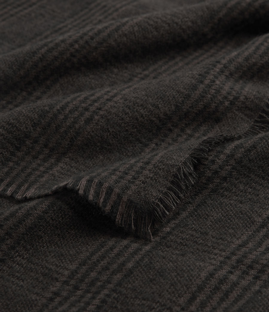 Hommes Griffin Wool Blend Scarf (army_green) - Image 3