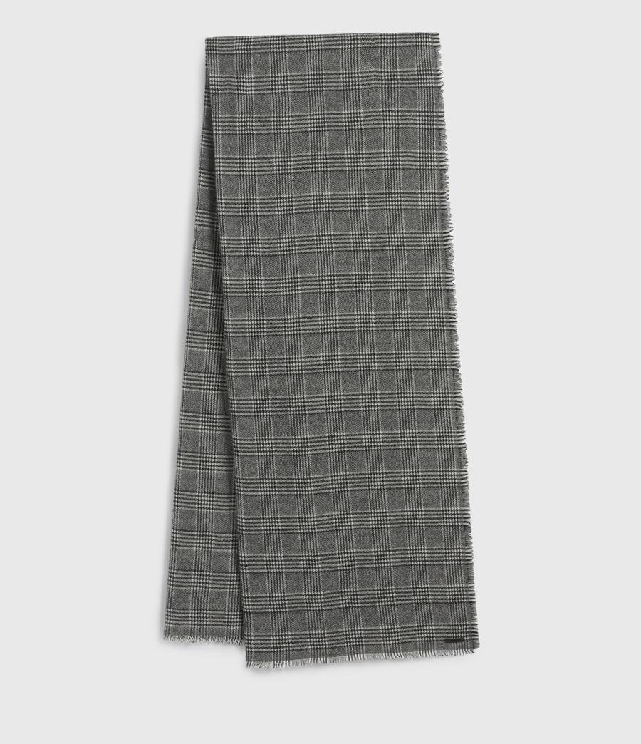 Men's Griffin Wool Blend Scarf (black) - Image 2