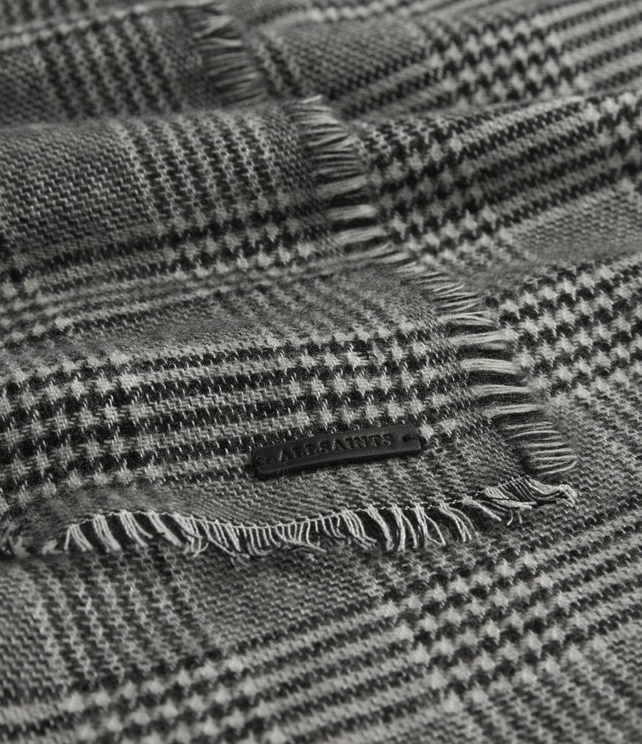 Men's Griffin Wool Blend Scarf (black) - Image 3