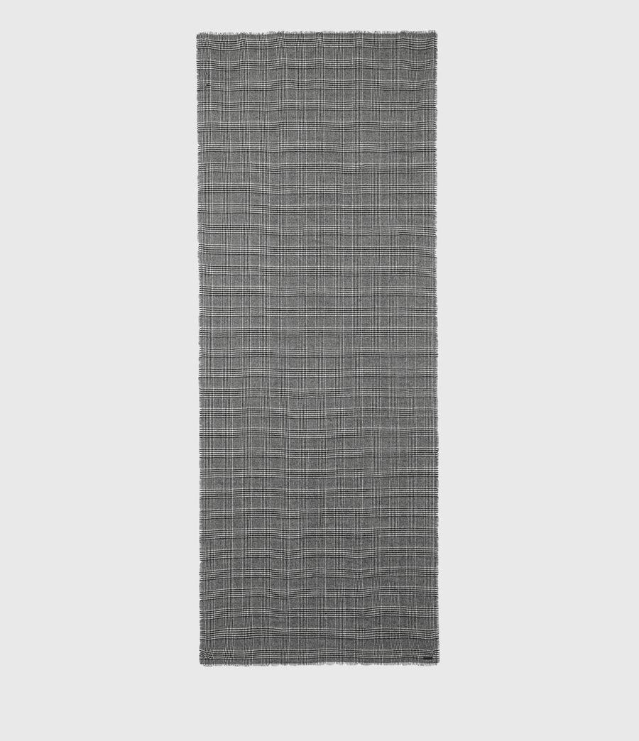 Men's Griffin Wool Blend Scarf (black) - Image 5