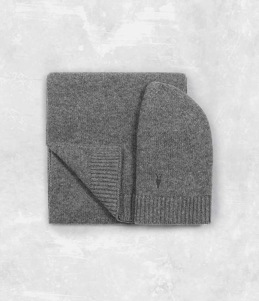 Klymore Hat And Scarf Gift Set by Allsaints