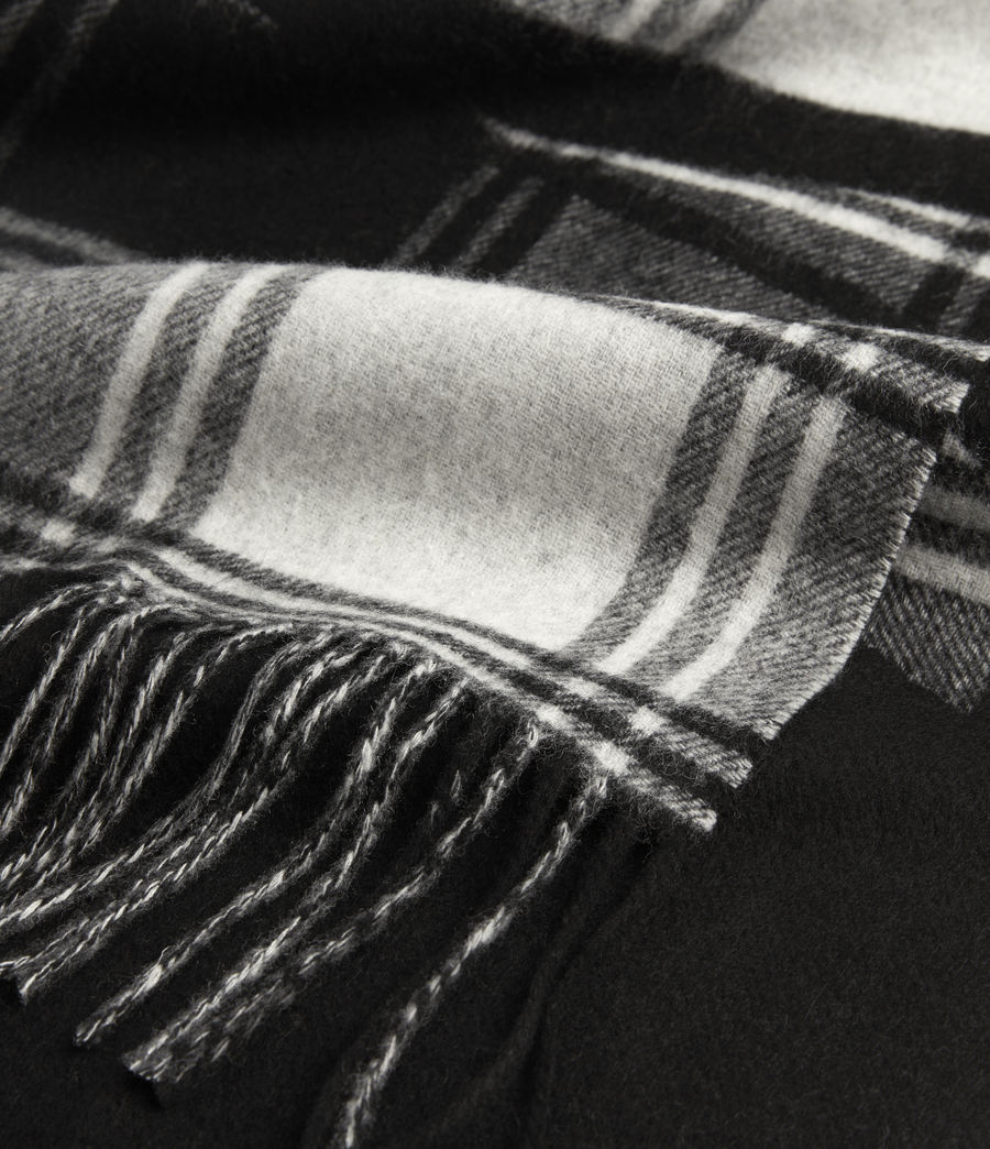 Mens Arden Wool Logo Scarf (black_chalk) - Image 5