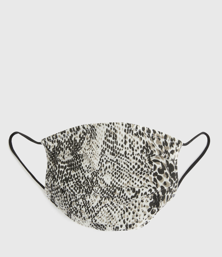 Men's Reptilia Face Mask (optic_white_multi) - Image 1