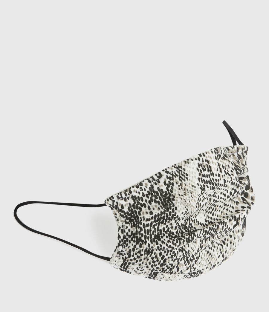 Men's Reptilia Face Mask (optic_white_multi) - Image 3