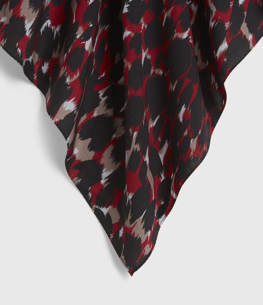 Mens Jackson Bandana (red) - Image 2