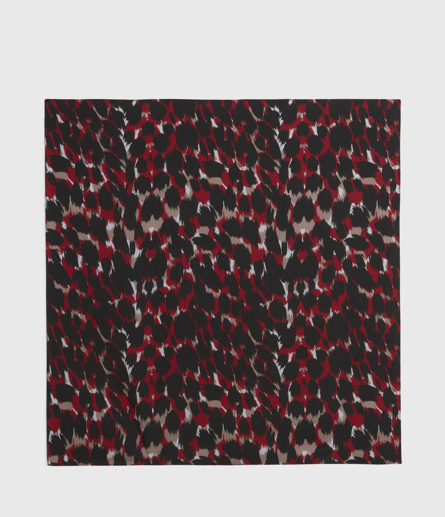 Mens Jackson Bandana (red) - Image 3