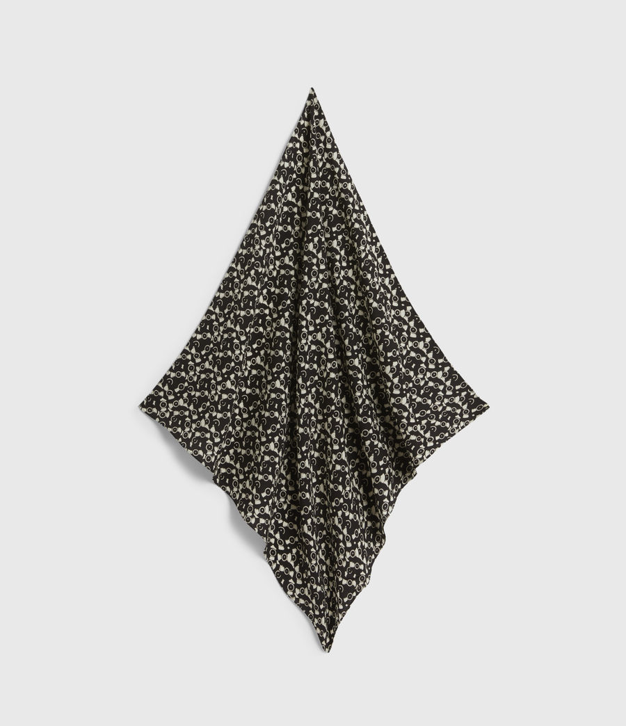 Men's Vinyl Bandana (black) - Image 1
