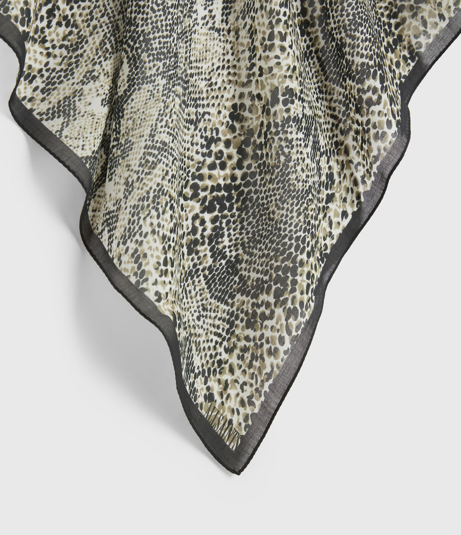 Hommes Reptilia Bandana (grey) - Image 3